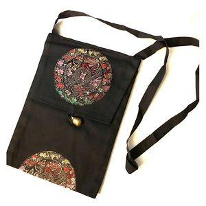 🌺best price🌺 Asian print bag, bell 🔔 closure.